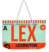 Lex Lexington Luggage Tag I Weekender Tote Bag
