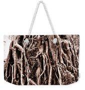 Life Is Complicated - Sepia Weekender Tote Bag