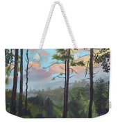 Lifting My Soul At Pink Knob - In Elliay Weekender Tote Bag