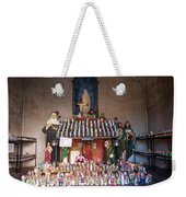Light A Candle For Me Weekender Tote Bag by Mary Lee Dereske