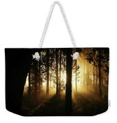 Light In The Woods Weekender Tote Bag