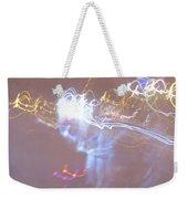 Light Night Weekender Tote Bag