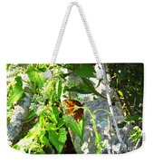 Light The Butterfly Weekender Tote Bag by Robert Knight