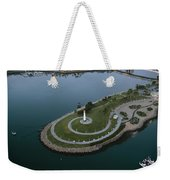 Lighthouse On The Coast, Long Beach Weekender Tote Bag
