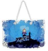 Lighthouse, Watercolor, C2019, By Adam Asar - 19 Weekender Tote Bag