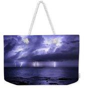 Lighting Sea Weekender Tote Bag