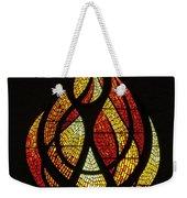 Lighting The Way - Wayland Kaltwasser Flame Weekender Tote Bag