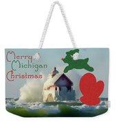 Lightouse Christmas Weekender Tote Bag