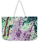 Lilac Dreams Weekender Tote Bag by Monique Faella