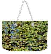 Lilly Pond Painting Weekender Tote Bag