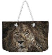 Lion Safari Weekender Tote Bag
