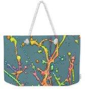 Liquid Rainbow Weekender Tote Bag