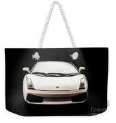 Lit Luxury Weekender Tote Bag