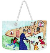 Lived In A Shoe 1 Weekender Tote Bag