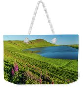 Loch Mor, Glendale, Skye Weekender Tote Bag