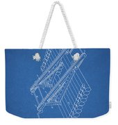 Log Loader Patent Weekender Tote Bag