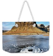 Lomagnupur Mountain Iceland Weekender Tote Bag