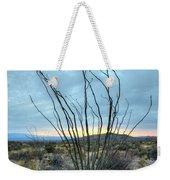 Lone Bush - Sunrise Weekender Tote Bag