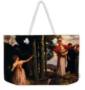 Look Any Laughs To The Plains Weekender Tote Bag