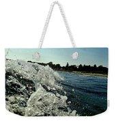 Look Into The Wave Weekender Tote Bag