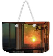 Looking In Or Looking Out Weekender Tote Bag by Bill Swartwout Photography