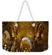 Looking Up Within The Cordoba Mezquita Weekender Tote Bag