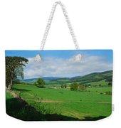 looking westwards in Tweed valley Weekender Tote Bag