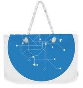 San Francisco Blue Subway Map Weekender Tote Bag