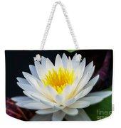 Lotus Gold Weekender Tote Bag