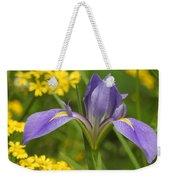 Louisiana Iris Weekender Tote Bag