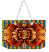 Love For The Fantasy Flowers With Happy Joy Weekender Tote Bag