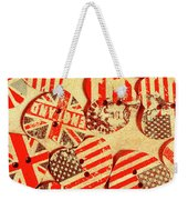 Love Of The Heartland Weekender Tote Bag