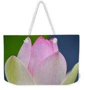 Lovely Soft Lotus Weekender Tote Bag