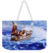 Lowestoft Trawler Weekender Tote Bag