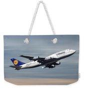 Lufthansa Boeing 747-430 Weekender Tote Bag