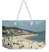 Lyme Regis Beach Weekender Tote Bag
