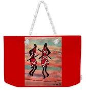 Maasai Dancers Weekender Tote Bag