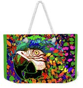 Macaw High I Weekender Tote Bag