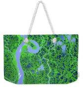 Mackenzie River Delta In Canada Weekender Tote Bag