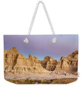 magenta Dawn in the Badlands  Weekender Tote Bag