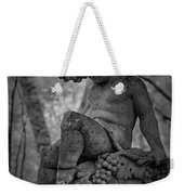 Magnolia Child Statue Weekender Tote Bag