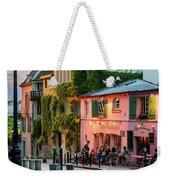 Maison Rose Evening II Weekender Tote Bag by Brian Jannsen
