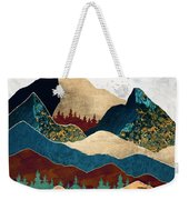 Malachite Mountains Weekender Tote Bag