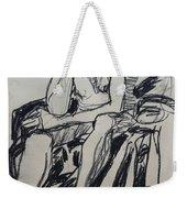 Male Nude I Weekender Tote Bag