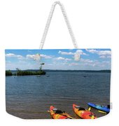 Mallows Bay And Kayaks Weekender Tote Bag