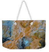Mammoth Hot Springs Weekender Tote Bag by Mae Wertz