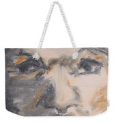Man Coming From Shadow Weekender Tote Bag