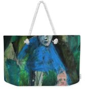 Man In A Park With A Baby Weekender Tote Bag