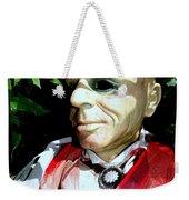 Man In Bushes Weekender Tote Bag