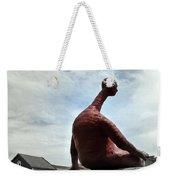 Man On The Wall Weekender Tote Bag